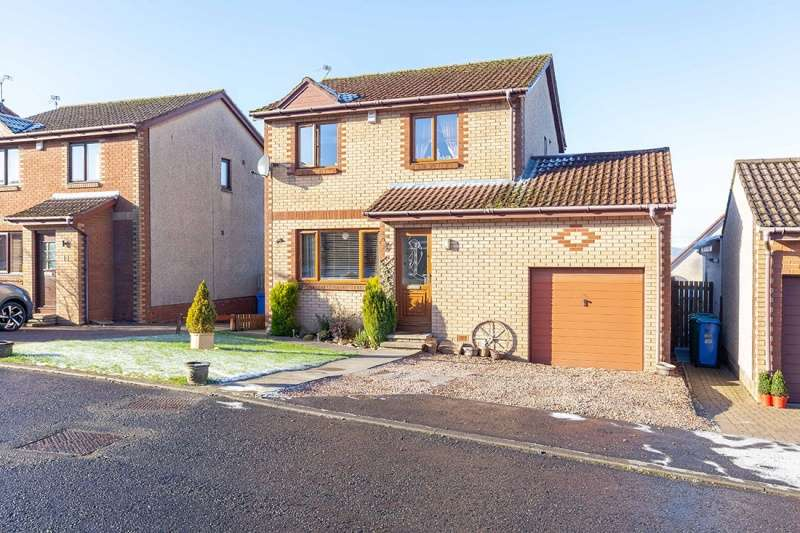 3 Bedrooms Detached House for sale in The Beeches, Lochgelly, Fife, KY5 9QB