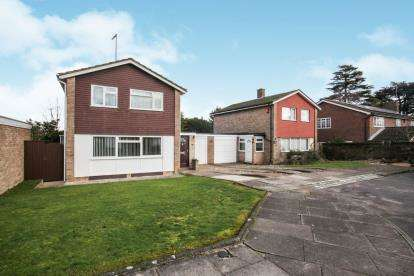 3 Bedrooms Detached House for sale in Holmfield Close, Luton, Bedfordshire