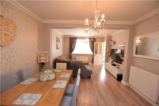 3 Bedrooms Terraced House for sale in New Fosseway Road, BRISTOL, BS14 9LL