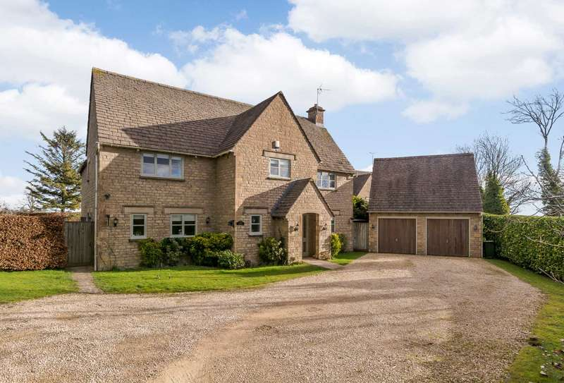 5 Bedrooms Detached House for sale in Brimpsfield, Nr Cheltenham