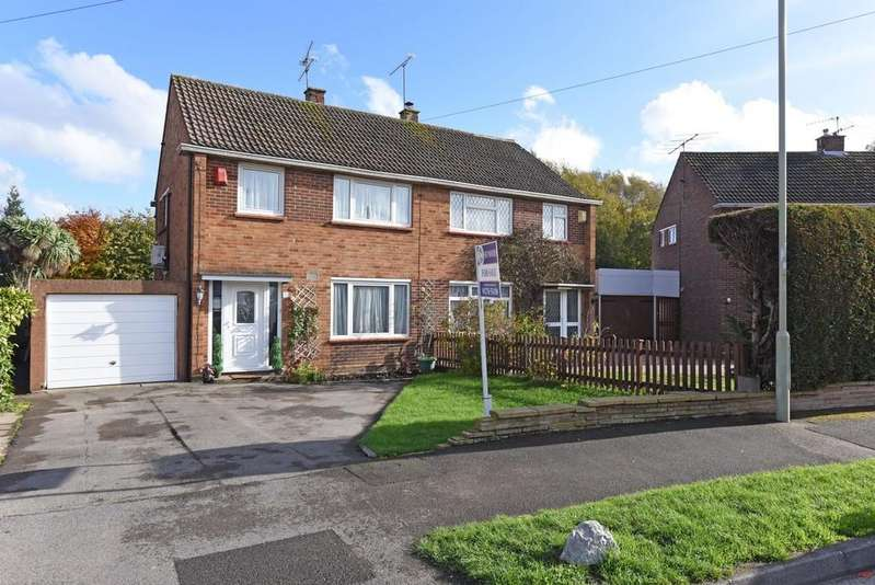 3 Bedrooms Semi Detached House for sale in Whittle Crescent, Farnborough