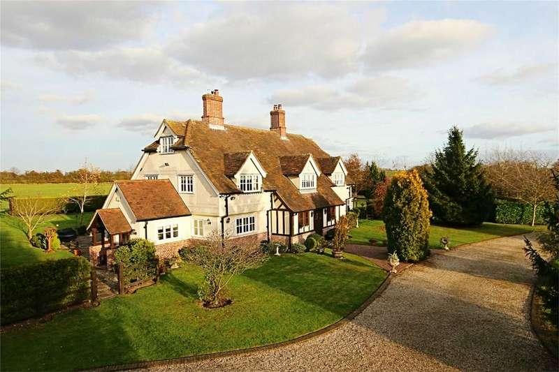 6 Bedrooms Detached House for sale in Slough Road, Allens Green, Sawbridgeworth, Hertfordshire