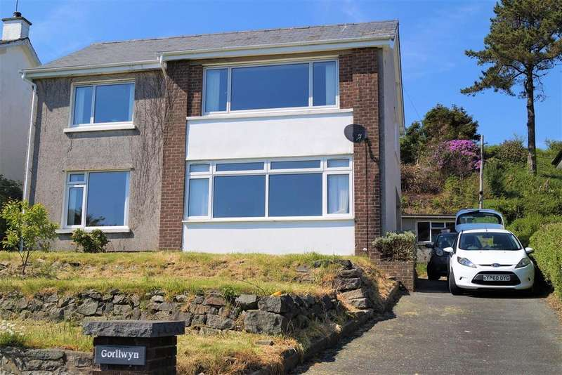 3 Bedrooms Detached House for sale in Ala Road, Pwllheli