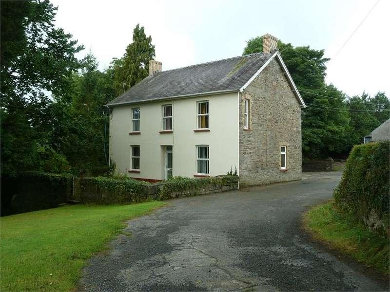 4 Bedrooms Farm Commercial for sale in Pantyderi Farm, Bancyfelin, Carmarthen