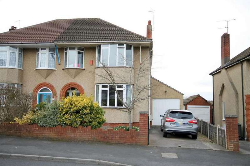 3 Bedrooms Semi Detached House for sale in Oakdale Road, Downend, Bristol