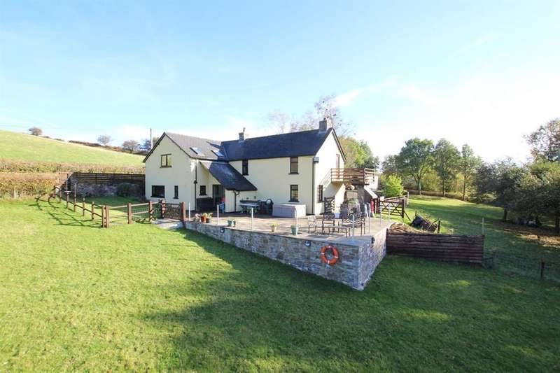 4 Bedrooms Detached House for sale in Trallong Common, Brecon