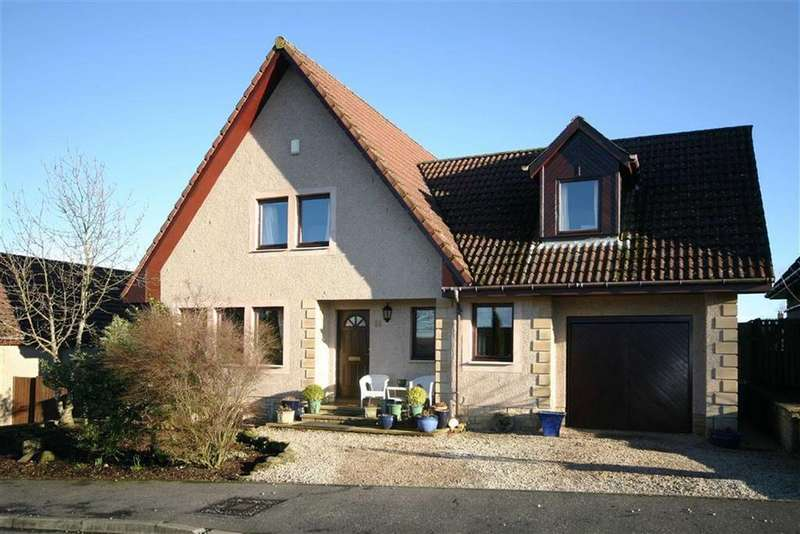 4 Bedrooms Detached House for sale in 11, Linen Mill Close, Freuchie, Fife, KY15