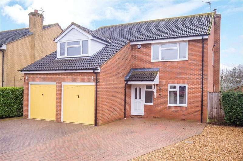5 Bedrooms Detached House for sale in Stratford Way, Marston Moretaine, Bedford, Bedfordshire