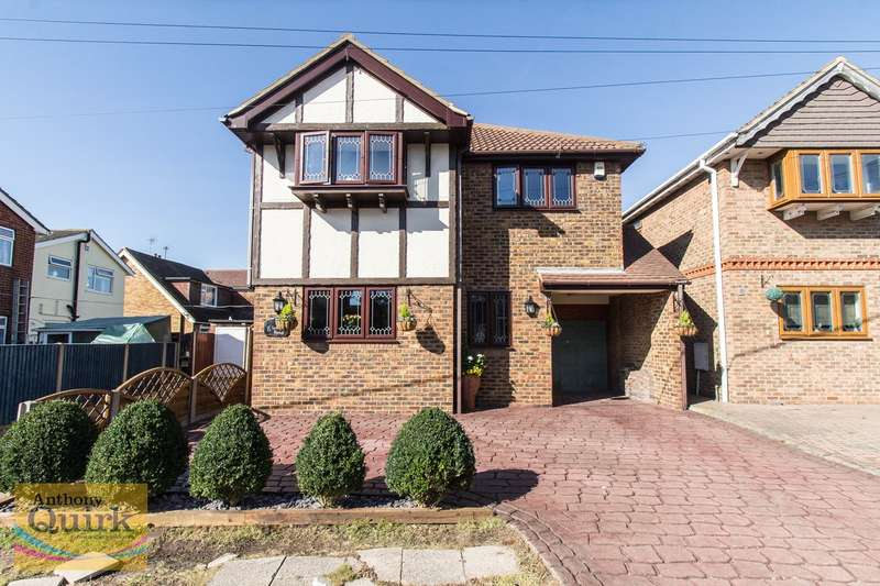 4 Bedrooms Detached House for sale in Woodville Road, Canvey Island, SS8
