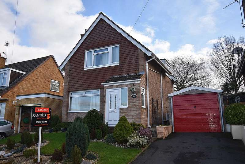 3 Bedrooms Detached House for sale in Sullivan Road, Broadfields, Exeter