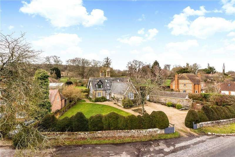 5 Bedrooms Detached House for sale in Hurstbourne Priors, Whitchurch, Hampshire, RG28