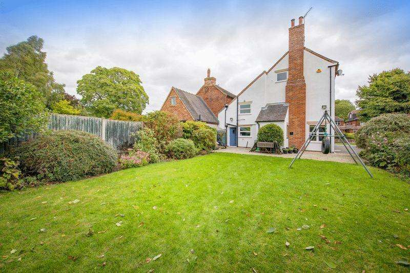 4 Bedrooms Semi Detached House for sale in Rectory Lane, Breadsall Village