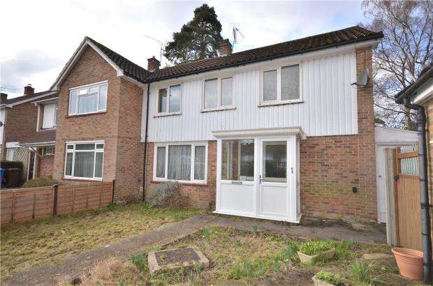 3 Bedrooms Semi Detached House for sale in Illingworth Grove, Bracknell, Berkshire