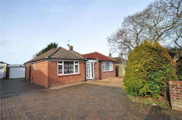 3 Bedrooms Detached Bungalow for sale in Brackley Way, Basingstoke, Hampshire