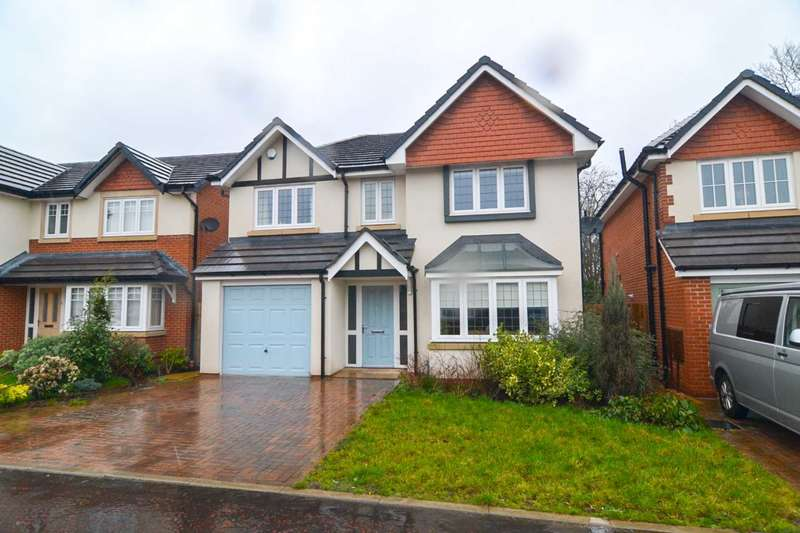 4 Bedrooms Detached House for sale in Raleigh Close, Newton Le Willows