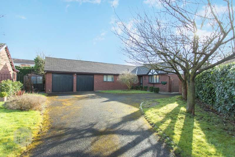 5 Bedrooms Detached Bungalow for sale in The Croft, Euxton, Chorley, PR7