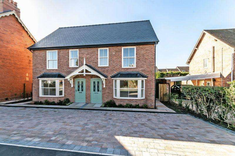 4 Bedrooms Semi Detached House for sale in Fox Lane, Waverton, Chester