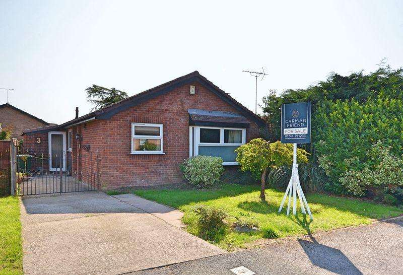 3 Bedrooms Detached Bungalow for sale in Morgan Close, Chester