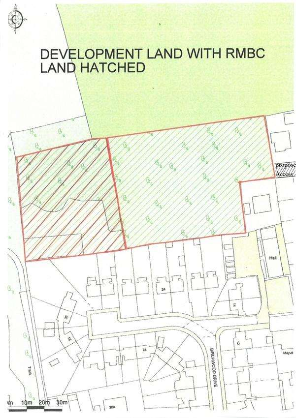 Land Commercial for sale in Potential Development Site, Allott Close, Ravenfield, Rotherham, South Yorkshire
