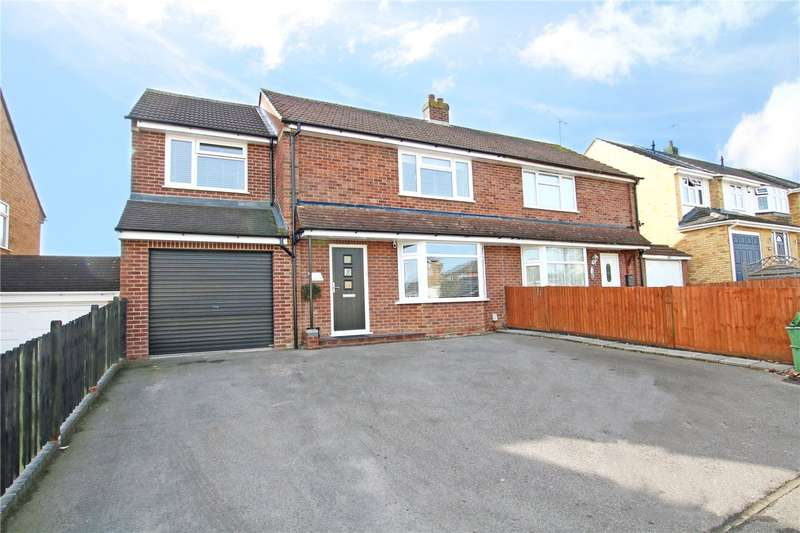 3 Bedrooms Semi Detached House for sale in Warborough Avenue, Tilehurst, Reading, Berkshire, RG31