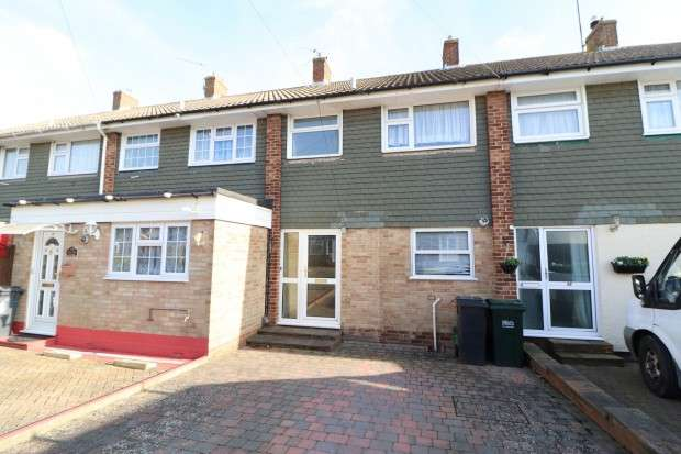 3 Bedrooms Terraced House for sale in Attfield Walk, Eastbourne, BN22