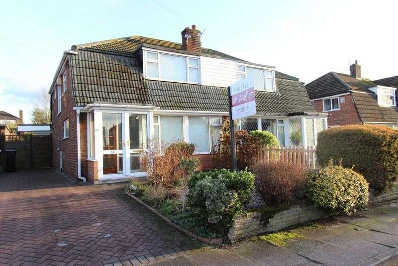 3 Bedrooms Semi Detached House for sale in Sunnybank Avenue, Heaton Mersey