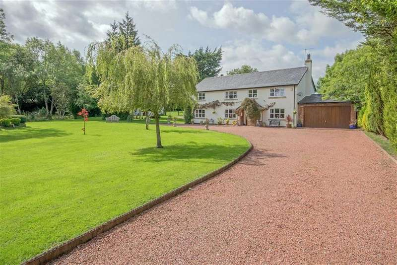 4 Bedrooms Detached House for sale in Pant Y Ffordd, Treuddyn, Mold