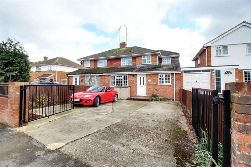 5 Bedrooms Semi Detached House for sale in Cartmel Drive, Woodley, Reading, Berkshire, RG5