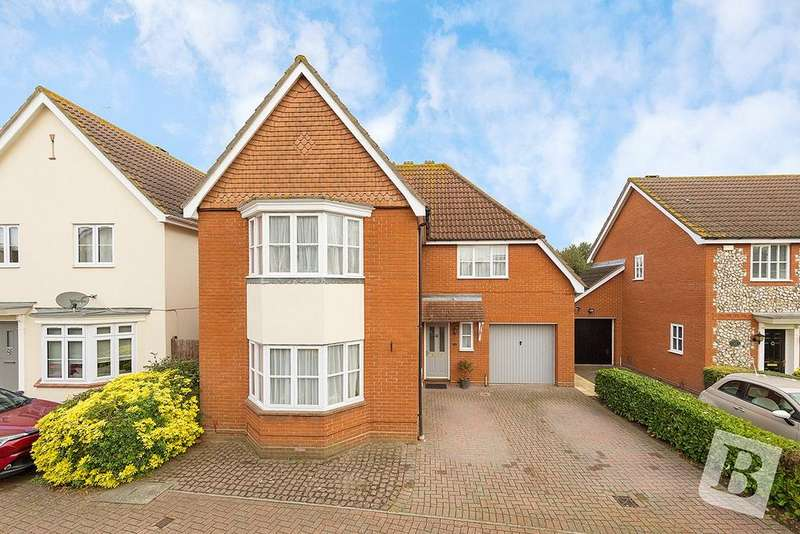 4 Bedrooms Detached House for sale in Hornbeam Chase, Brandon Groves, South Ockendon, RM15