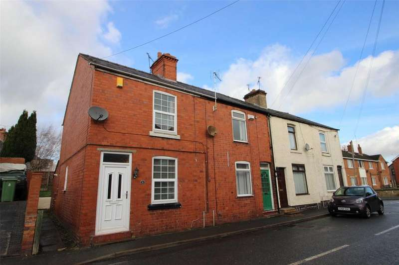 2 Bedrooms End Of Terrace House for sale in Vicarage Hill, Rhostyllen, Wrexham, LL14