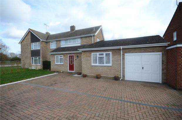 3 Bedrooms Semi Detached House for sale in Lunds Farm Road, Woodley, Reading