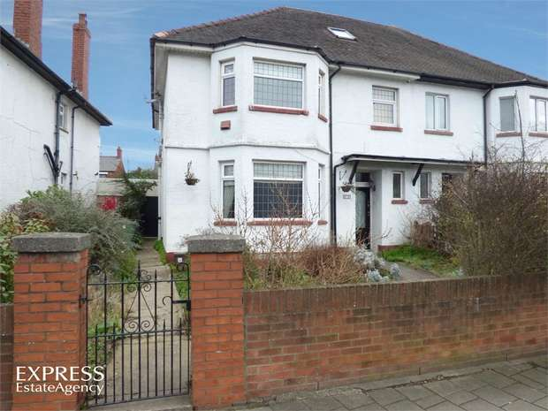 4 Bedrooms Semi Detached House for sale in Albany Road, Cardiff, South Glamorgan