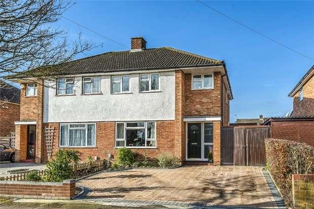 3 Bedrooms Semi Detached House for sale in Larkway, Bedford