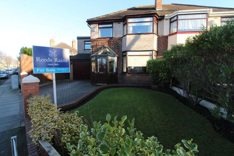 4 Bedrooms Semi Detached House for sale in Thornbridge Avenue, Liverpool, L21