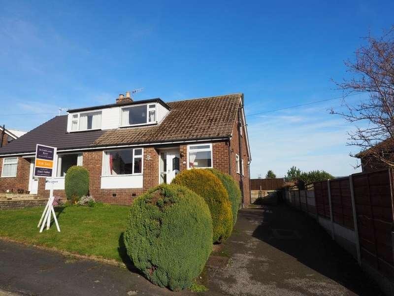 3 Bedrooms Semi Detached House for sale in Aldersgate, New Mills, High Peak, Derbyshire, SK22 3BT