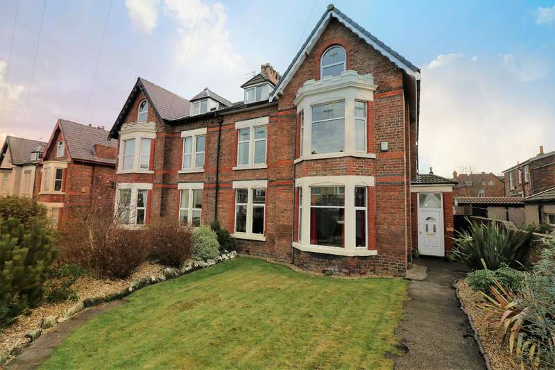 6 Bedrooms Semi Detached House for sale in Holland Road, Wallasey, CH45 7RB
