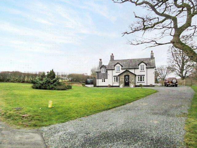 4 Bedrooms Equestrian Facility Character Property for sale in Pant-y-Dwr, Rhayader, Powys