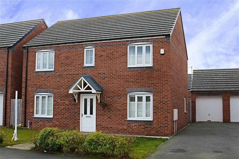 4 Bedrooms Detached House for sale in Gilkes Walk, Middlesbrough