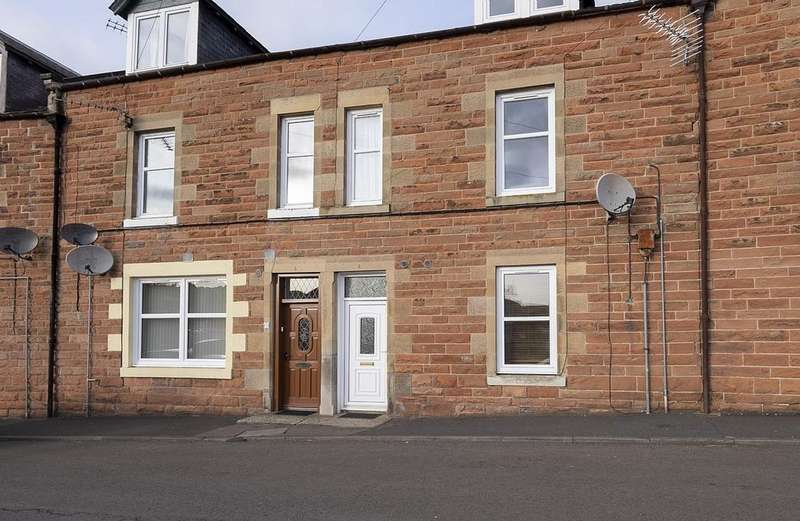 1 Bedroom Ground Flat for sale in 6 Janefield, Haughhead Road, Earlston TD4 6EQ