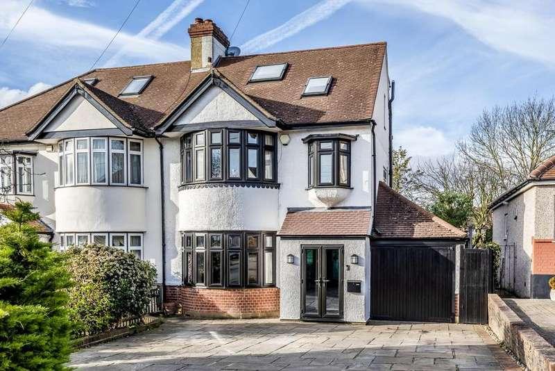 5 Bedrooms Semi Detached House for sale in Pickhurst Rise, West Wickham