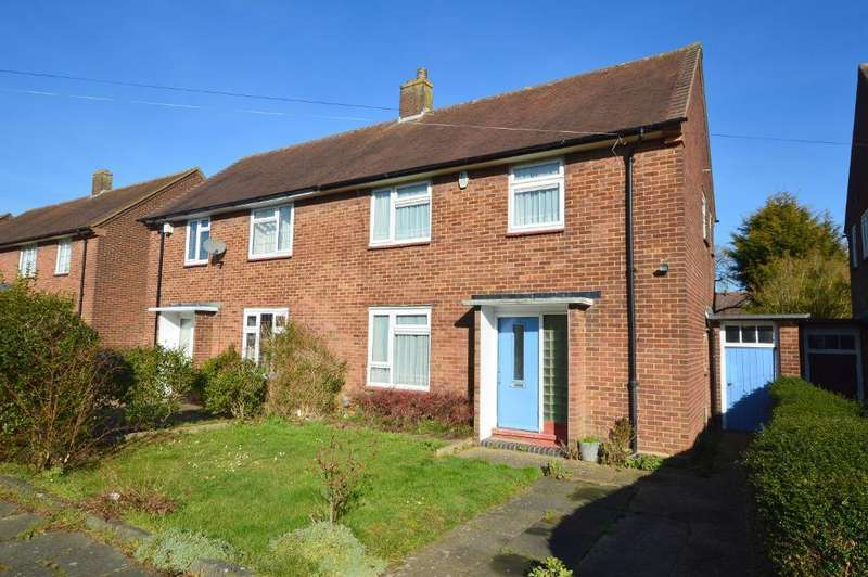 3 Bedrooms Semi Detached House for sale in Bretts Mead, Farley Hill, Luton, LU1 5NG