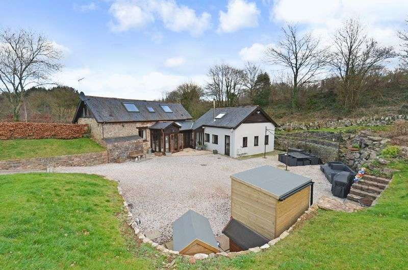 4 Bedrooms Property for sale in Dainton, Newton Abbot