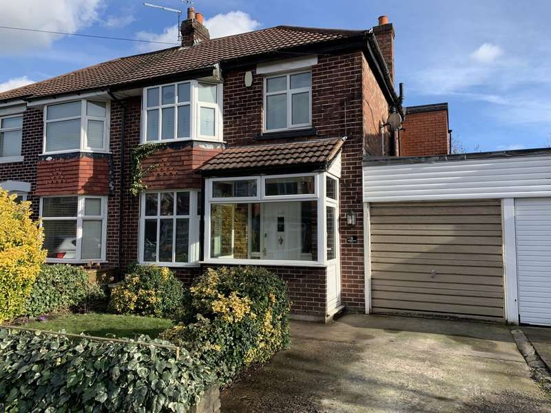 4 Bedrooms Semi Detached House for sale in Bangor Road, Cheadle