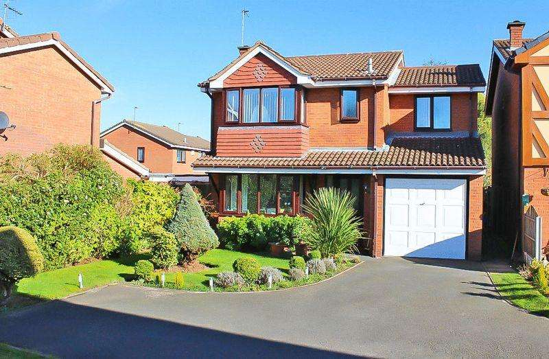 4 Bedrooms Detached House for sale in Balking Close, Sedgemoor Park, WV14 9XU