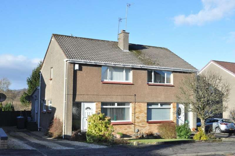 3 Bedrooms Semi Detached House for sale in Cander Rigg, Bishopbriggs, East Dunbartonshire, G64 3LS