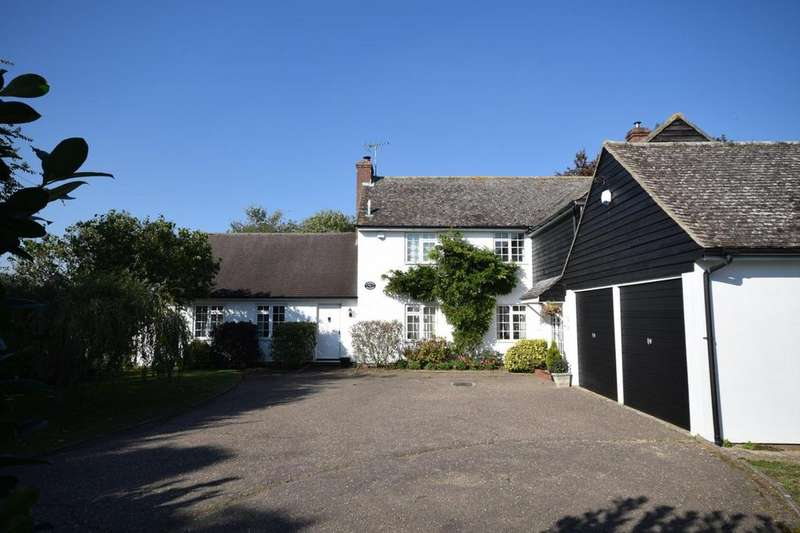 4 Bedrooms Detached House for sale in Dunmow Road, Great Bardfield, Braintree, Essex, CM7
