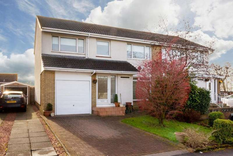 5 Bedrooms Semi Detached House for sale in Allerton Gardens, Mount Vernon, G69 7LN