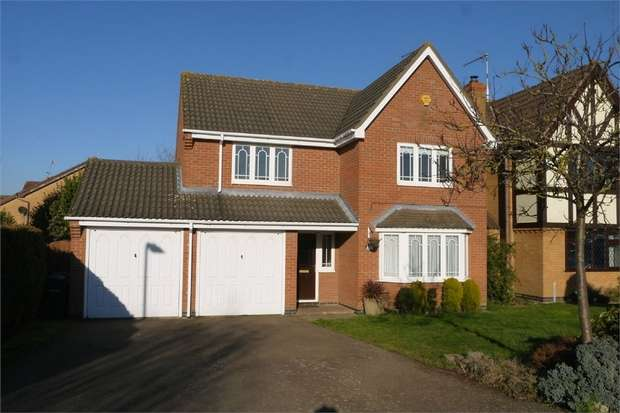 4 Bedrooms Detached House for sale in Chatsworth Drive, Market Harborough, Leicestershire
