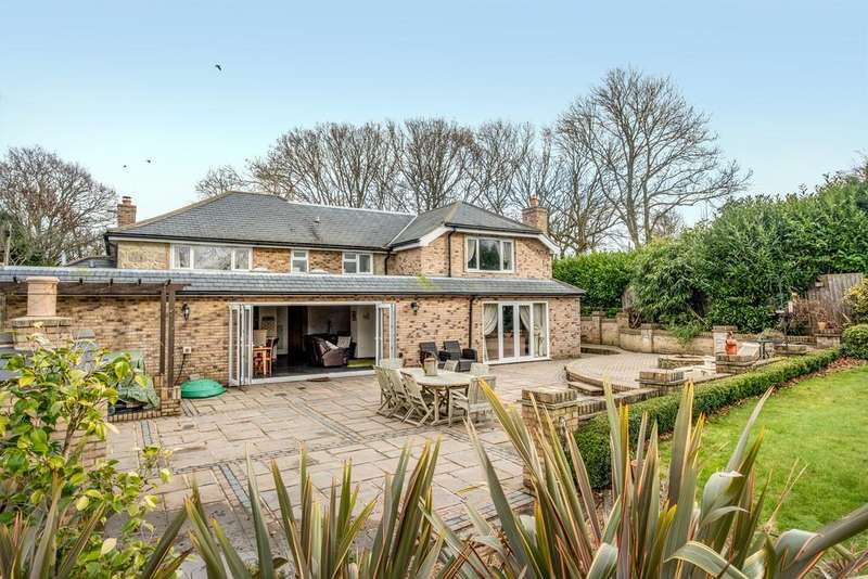 4 Bedrooms Detached House for sale in Redhill Lane, Sandford