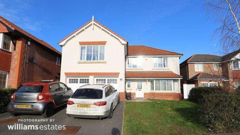 5 Bedrooms Detached House for sale in Llys Dyffryn, St. Asaph
